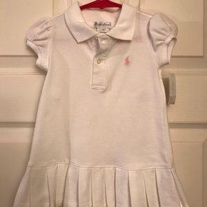 Ralph Lauren 2 piece white dress from 9 months old